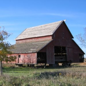 The Red Barn, On Risers