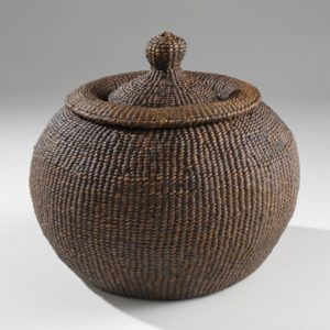"Chamber Pot (2009). Hanji, Lacquer; 6.25"" High."
