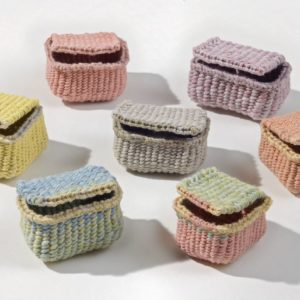 """Basket Candy (2011). Dye On Hanji. 1.5 X 1.5 X 2"""". Private Collections."""